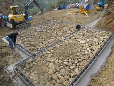 Construction Maison Béton Armé; Construction Sol